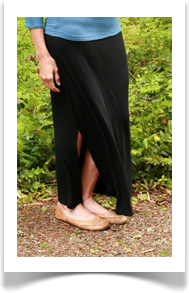 maxi skirt black was 68.00 now 40.80